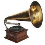 un gramophone classique
