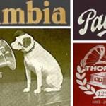 Logos de 4 marques assemblés