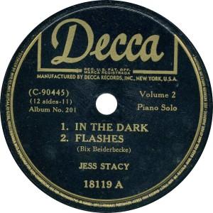étiquette vinyle Decca