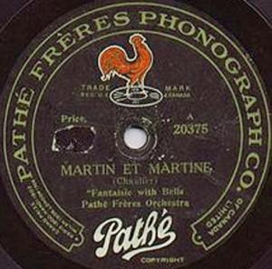étiquette vinyle Pathé