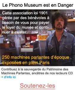 Soutenez le Phonomuseum, musée des machines parlantes à Paris